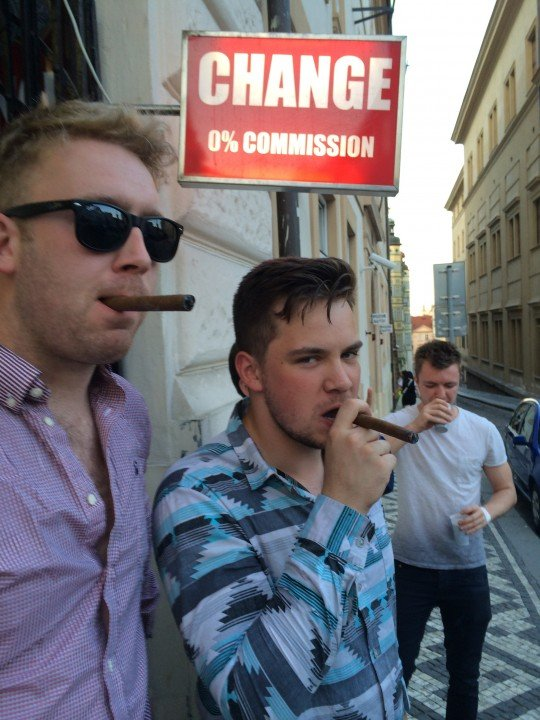 Cigars - For those special occasions like 0% commission.