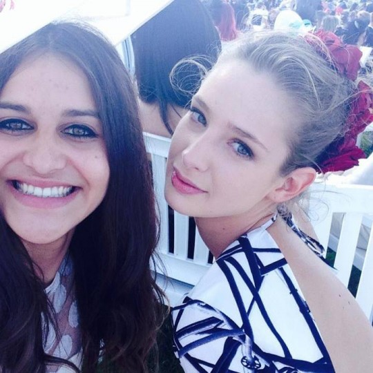 Emily (right) plans to move to Los Angeles to further her career