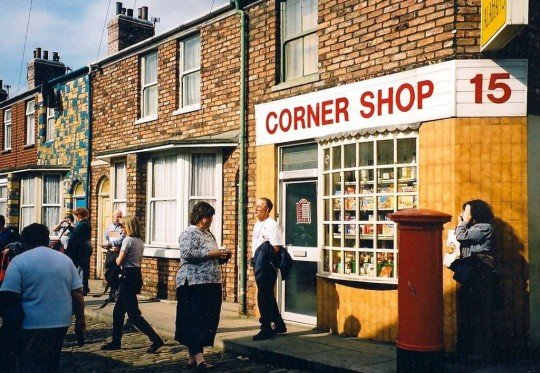 This is actually the shop from Coronation St, but you get the idea