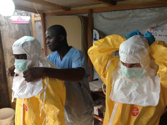 Ebola precautions in Guinea - European Commission for Humanitarian Aid and Civil Protection