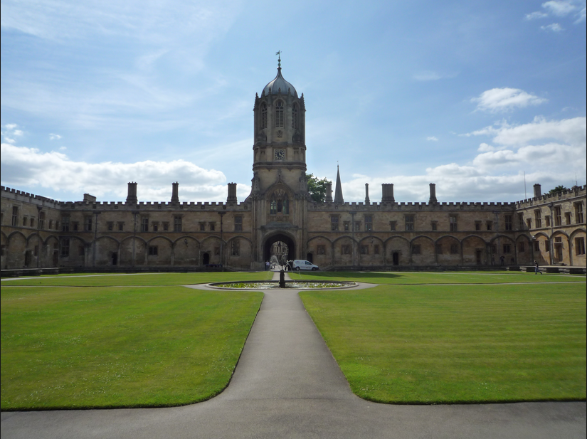 Christ Church College - where the debate was set to be held