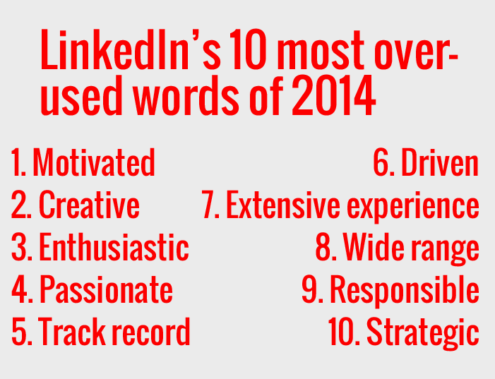 LinkedIn words