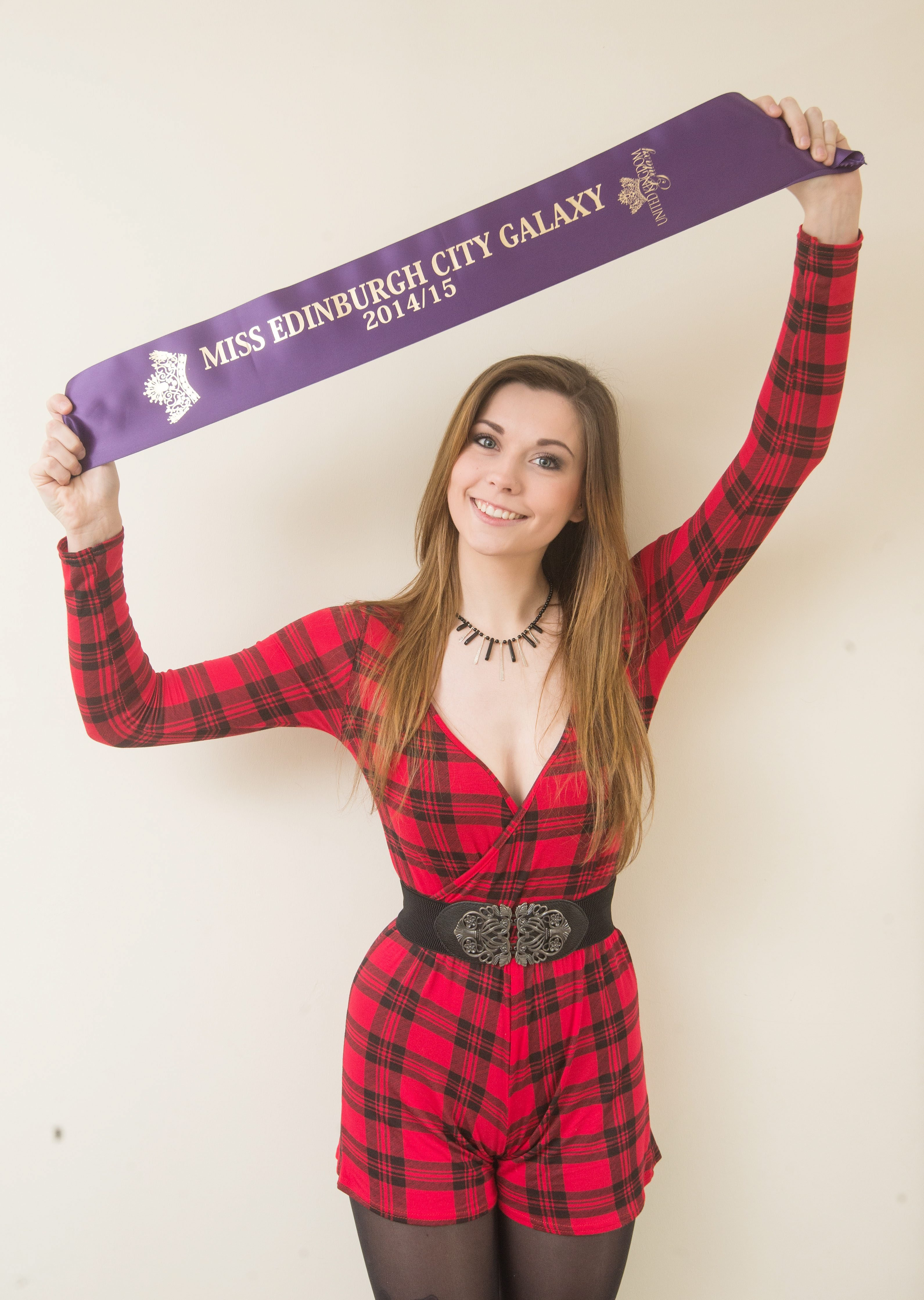 Miss Edinburgh City Galaxy  winner - Lana Elaine Fraser