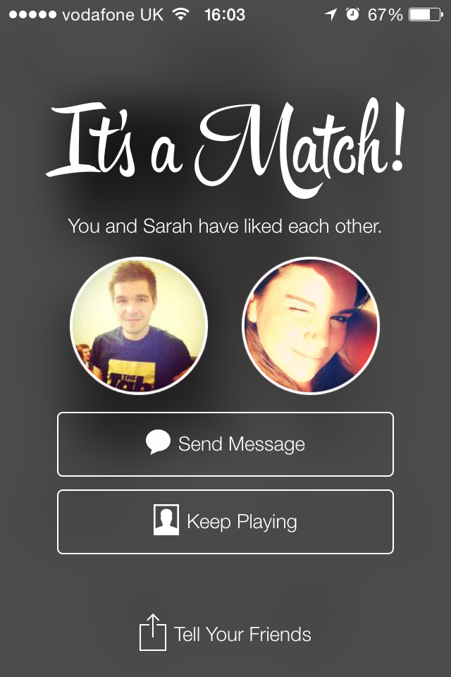 Matt on Tinder