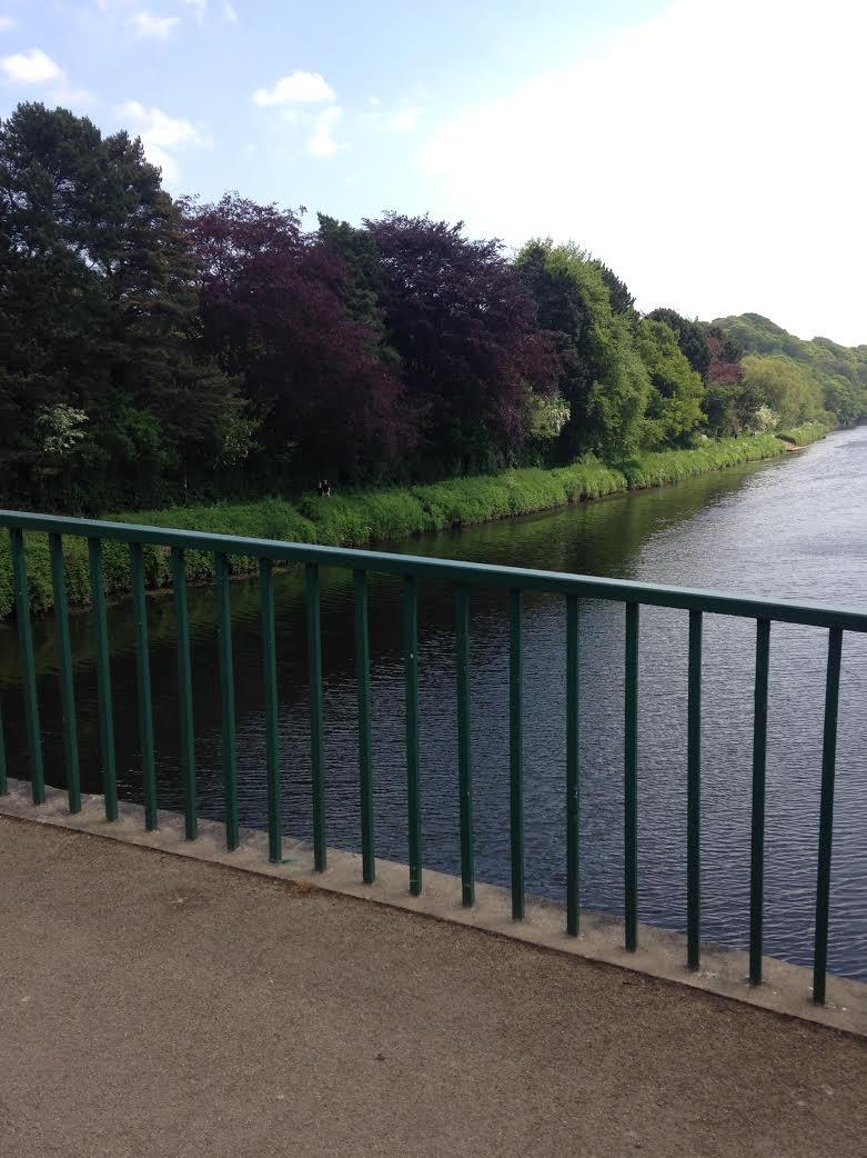 The River Wear, where three students have been found dead in 14 months