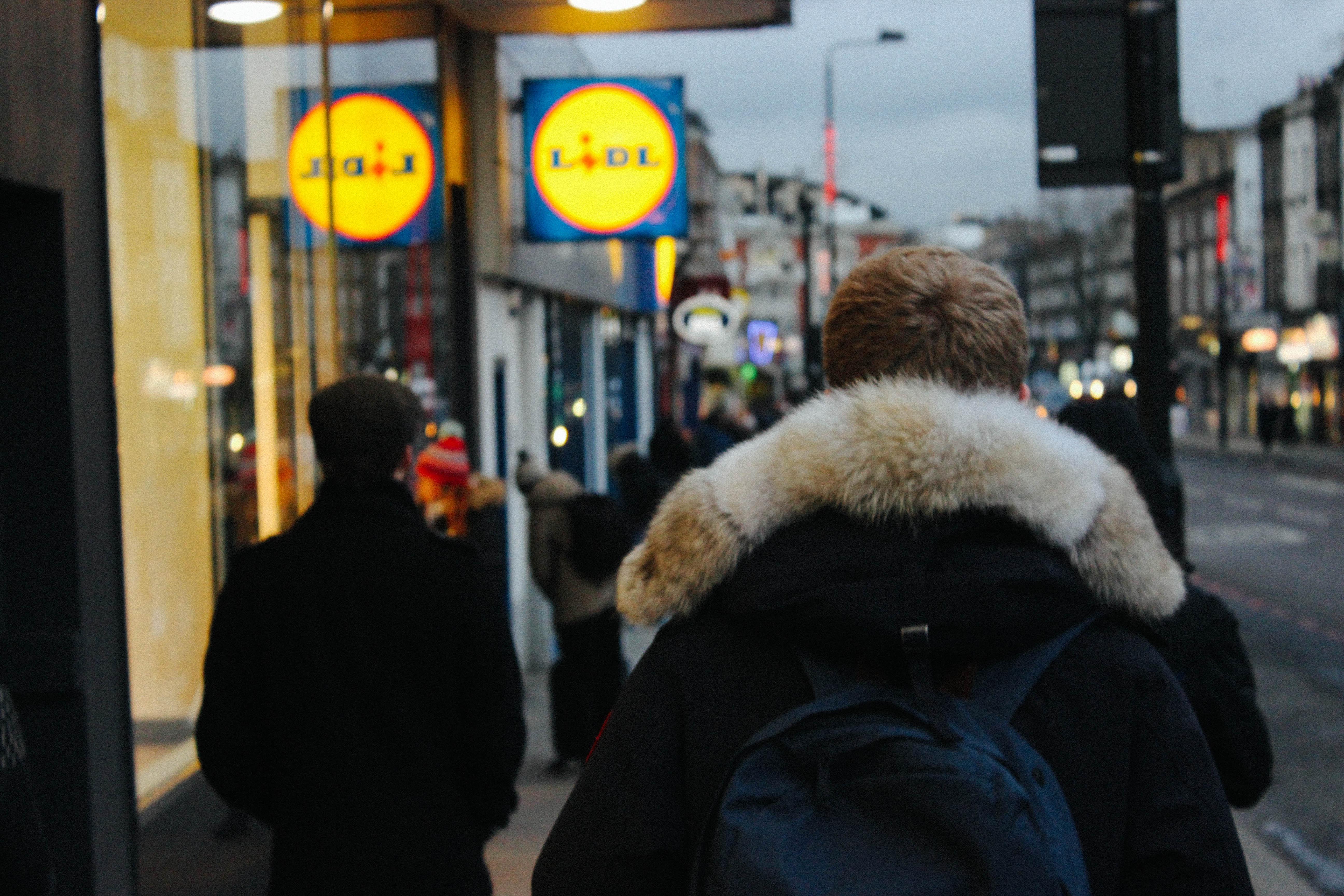 Walking to Lidl