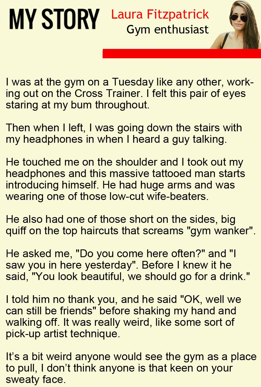 Laura Fitzpatrick my story