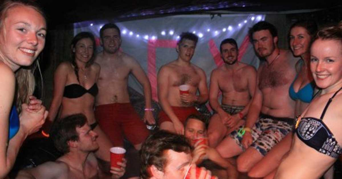 Sexy Hot Tub Party