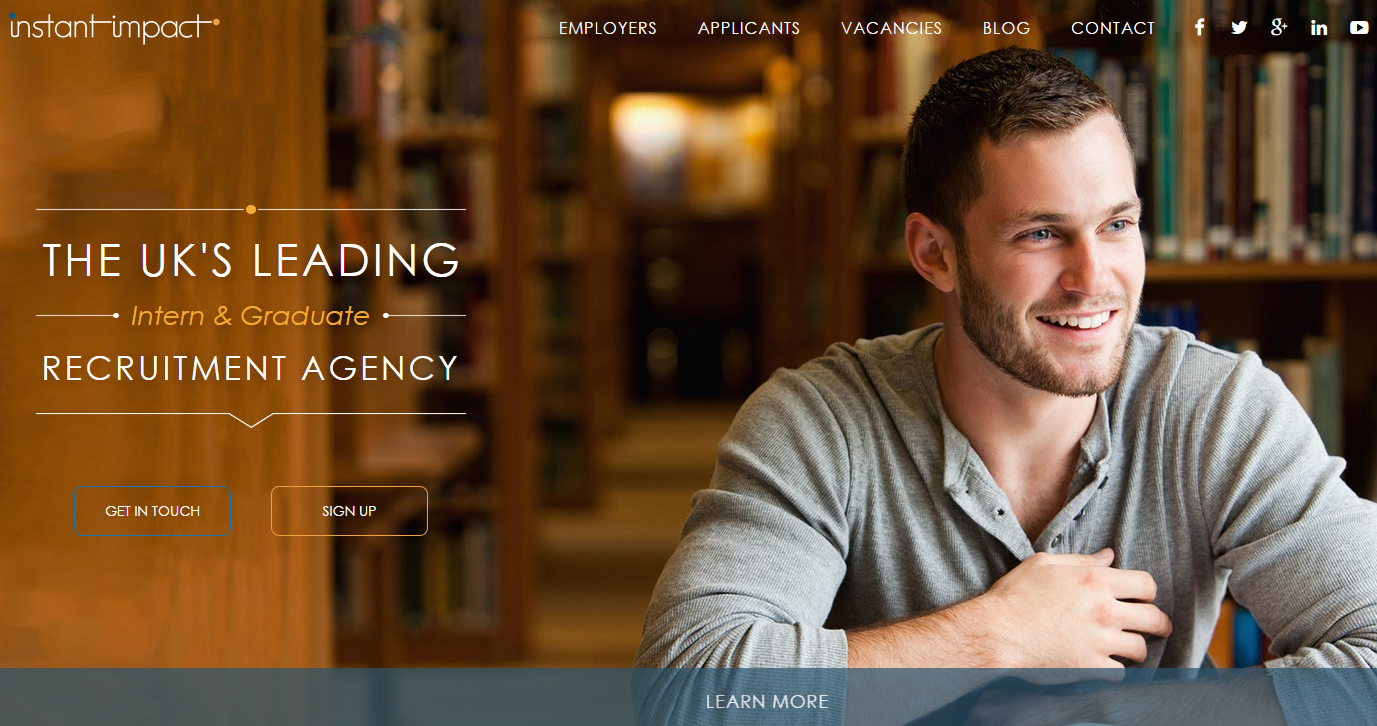Instant Impact Website