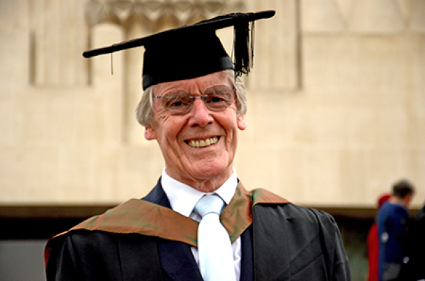 You'll be a bit older than your mates when you finally graduate