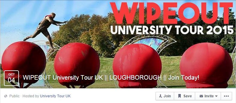 wipeout uni tour