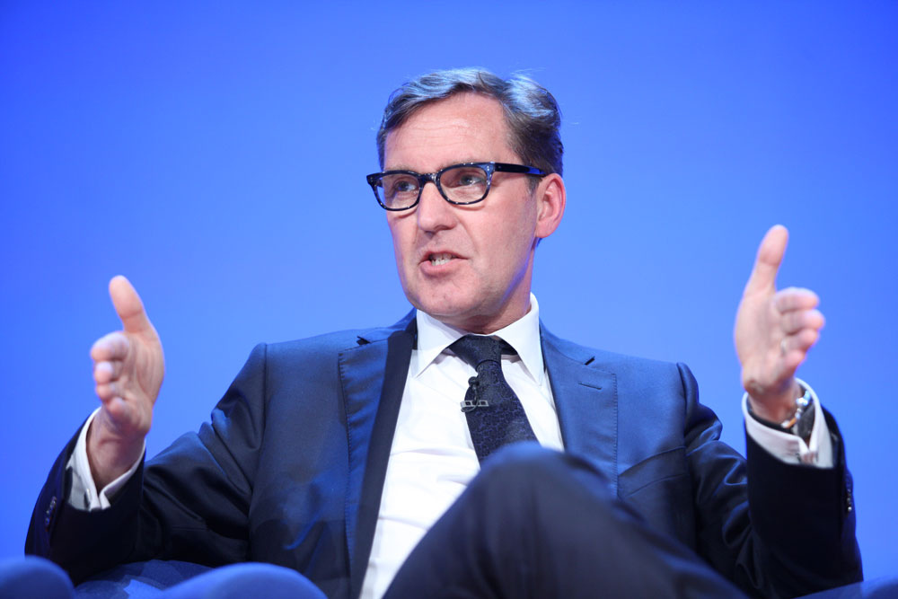 Alan Milburn, demonstrating the size of the rich-poor gap