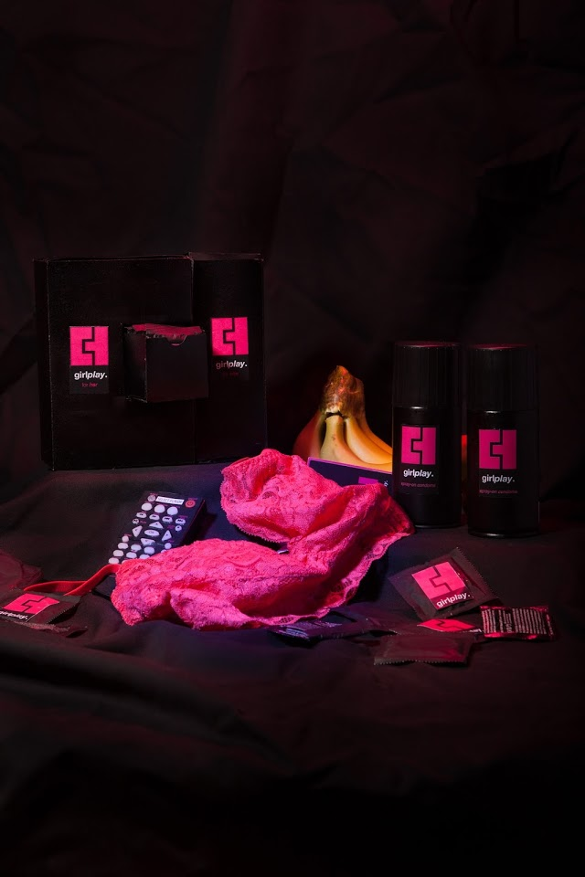 Chu has created a 'lovers kit' to go with the condom