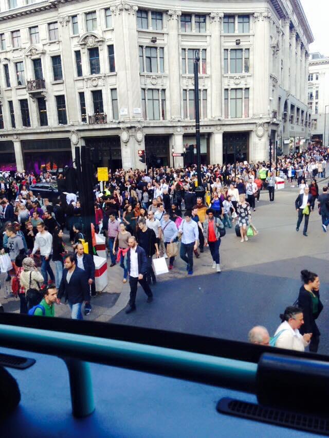 Spot the tourist