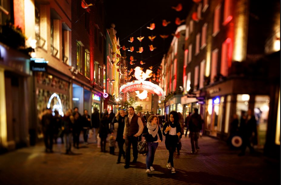 Cirque is in Carnaby street in London's West End