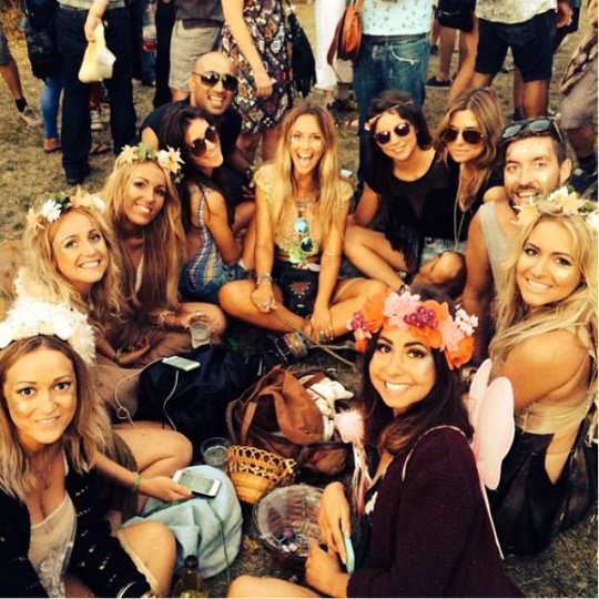 Festivals are ideal for cystitis to develop