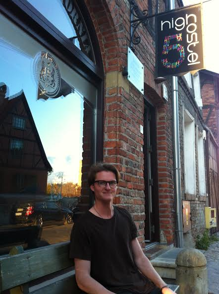Jonathon said the £1.20 pints in Gdansk were a bonus