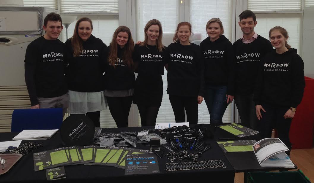Oxford uni Marrow volunteers