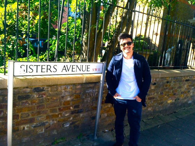 First glimpse of Sisters Avenue