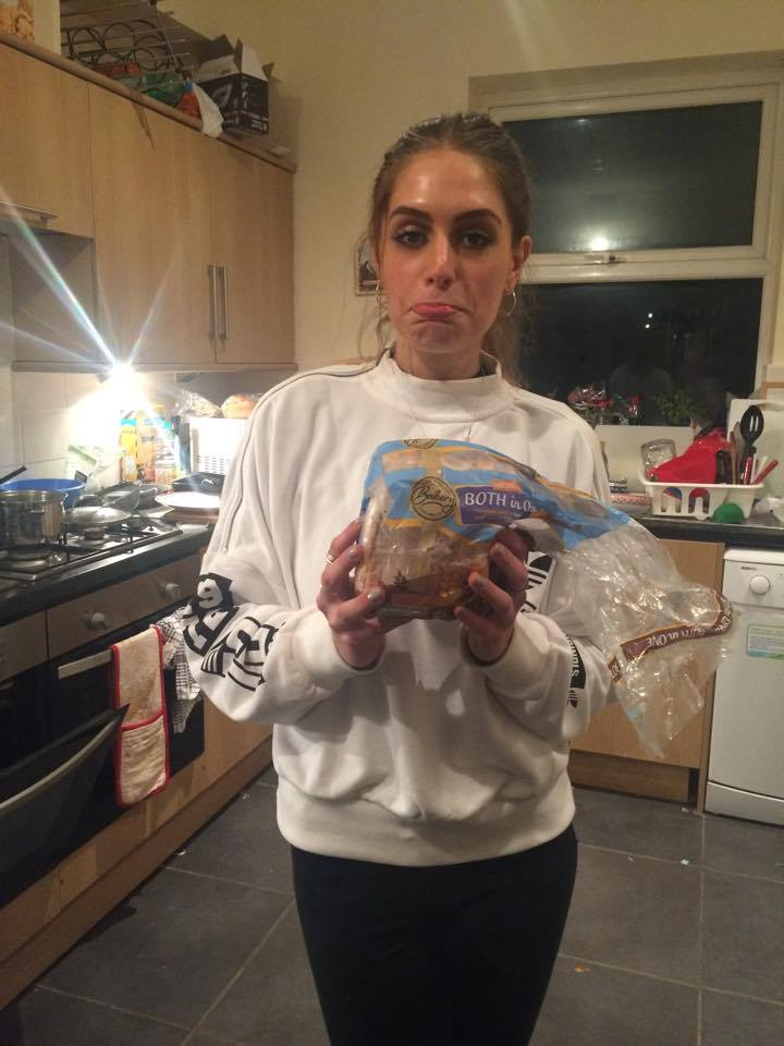 Laura's gutted she can't eat bread