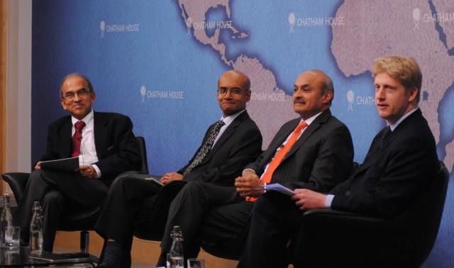 Vijay_Joshi,_Dr_James_Chiriyankandath,_Manvinder_Singh_Banga_and_Jo_Johnson_MP_(left_to_right)_(8250197392)