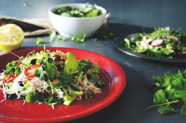 ÜGOT's salmon salad