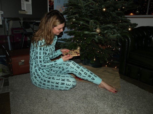 Treat yourself to your nice pjs