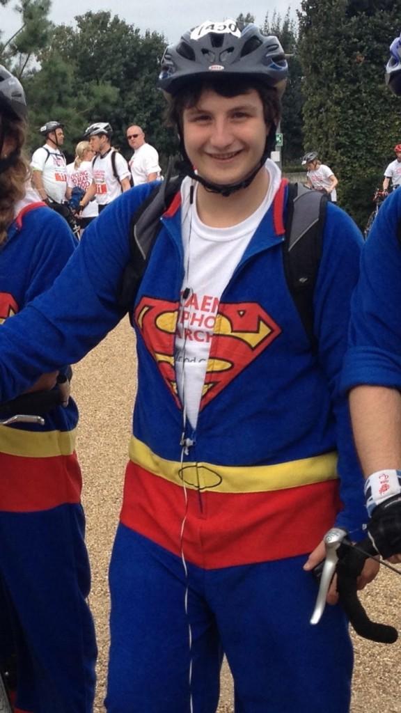 Saul, being a superhero