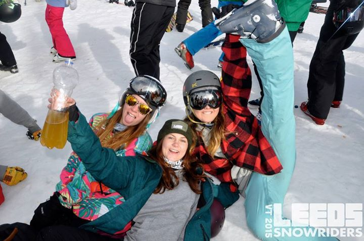 If you want to join the wildest snowsports society, go to Leeds