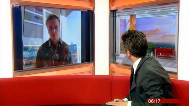 Speaking to BBC Breakfast about what we could see
