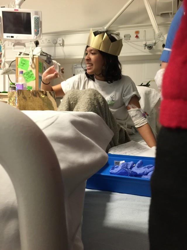 Xmas in hospital