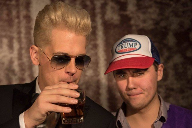 Milo Yiannopoulos (left): Probably not welcome at your uni