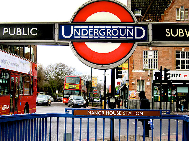 Yeah this is basically the only underground station in Hackney