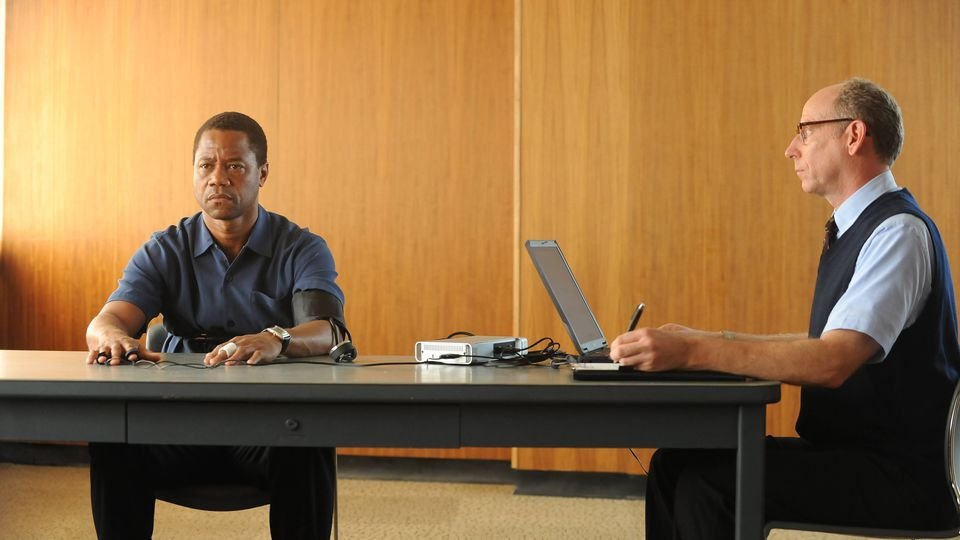 Cuba Gooding Jr, left, is so good as O.J. Simpson you'll forget about Rat Race
