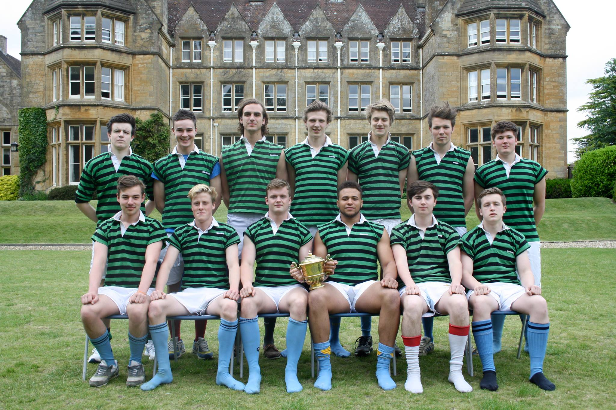 Our victorious Sixth Form Sevens team
