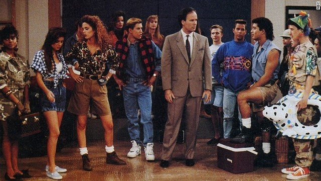 Saved By The Bell had me convinced all schools had full-length lockers