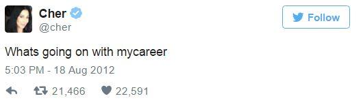 2012 cher career