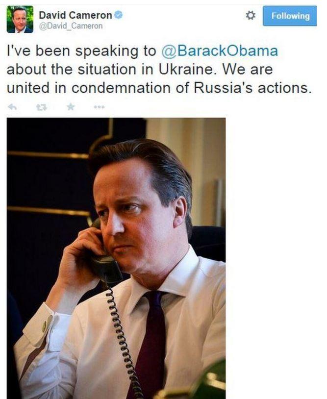 2014 David Cameron