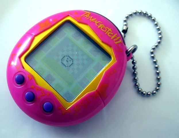 It's dead guys, the tamagotchi is dead