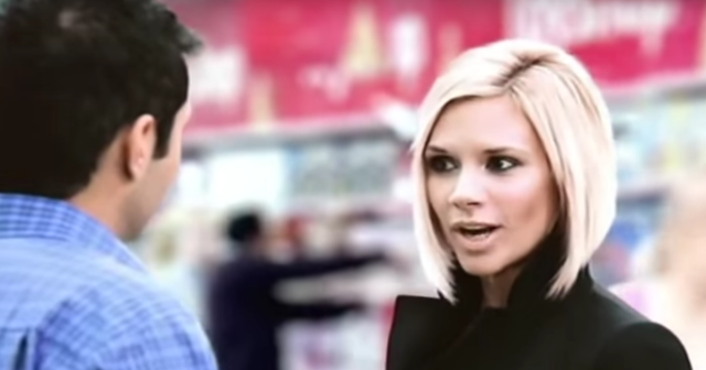 Remember the time Victoria Beckham was in a Tesco advert?