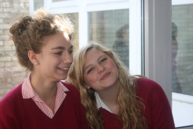 We became inseparable in year ten