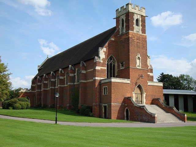 The chapel at Bedford School