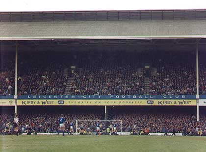 Filbert Street, Leicester City's old stadium