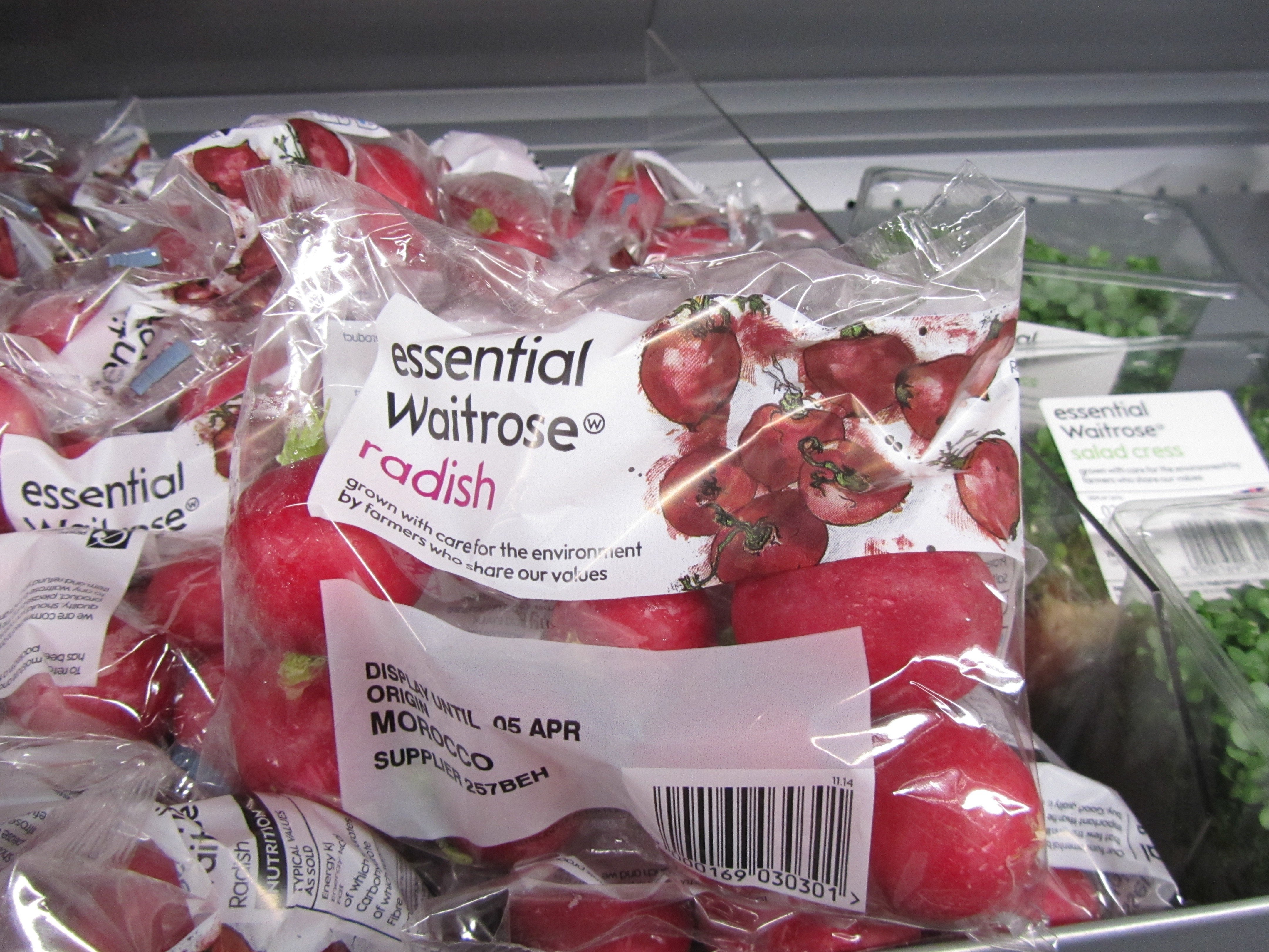 Ahhhhh radishes, essential!