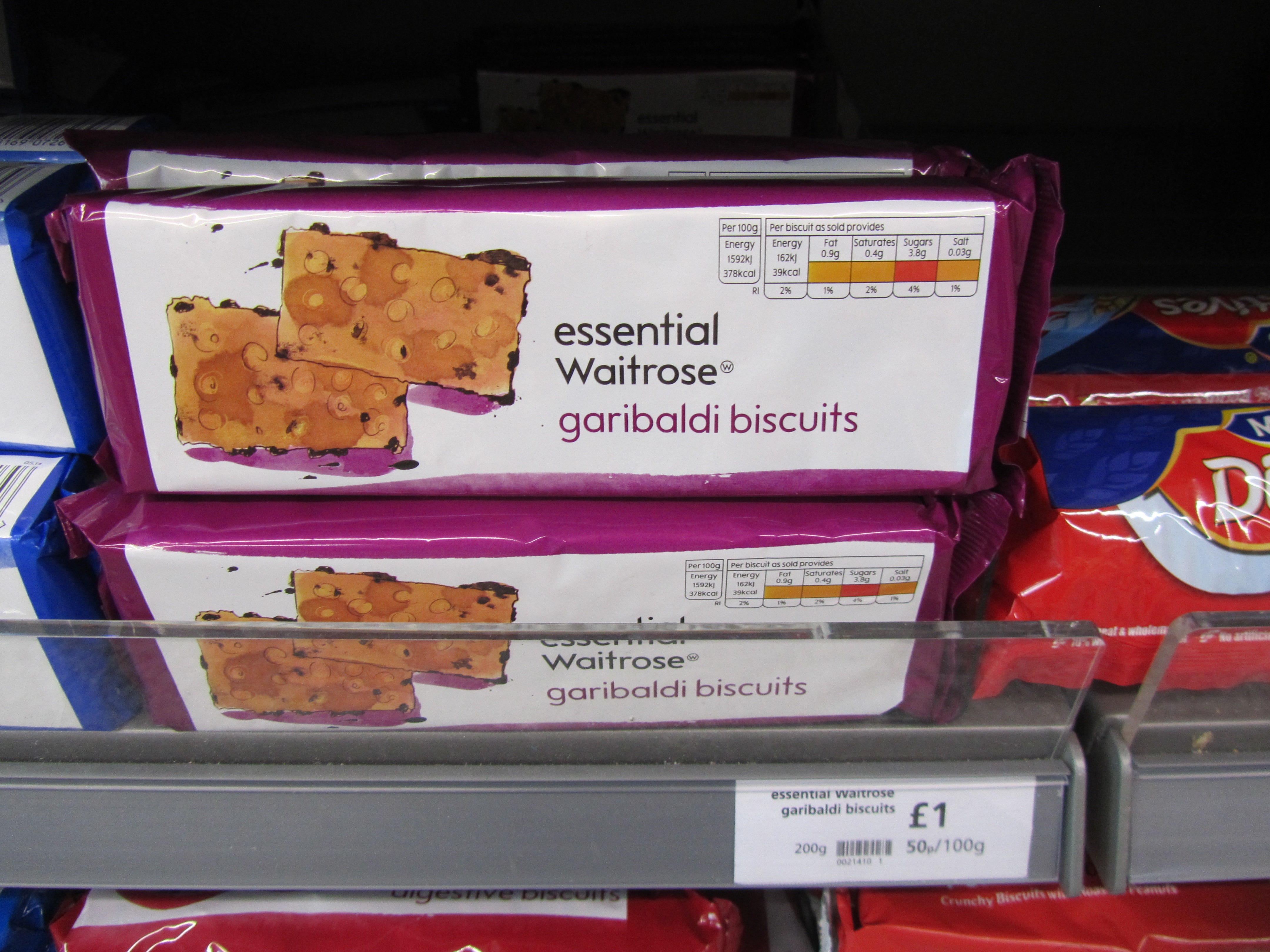 Are these REALLY more essential than custard creams?