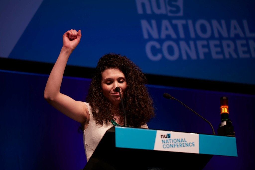 Malia Bouattia, the new President of the NUS
