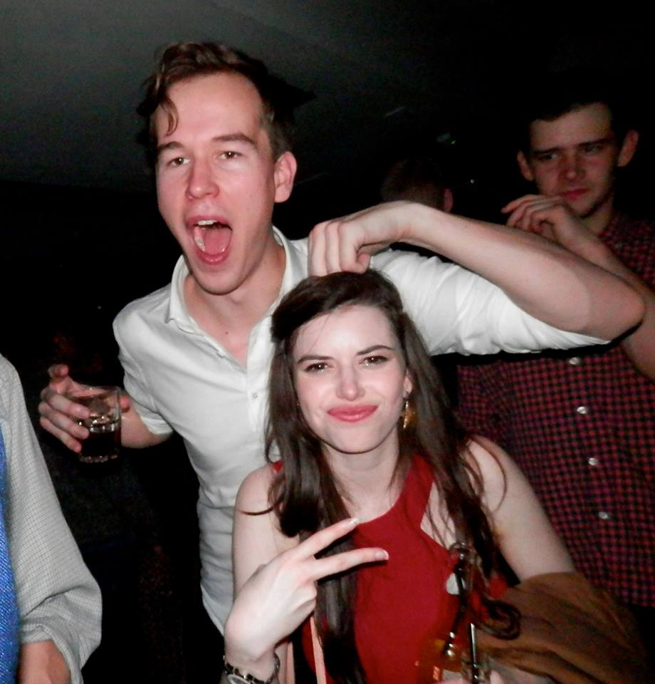 Tall drunk people will go through a 'noogie' phase, and for that we apologise