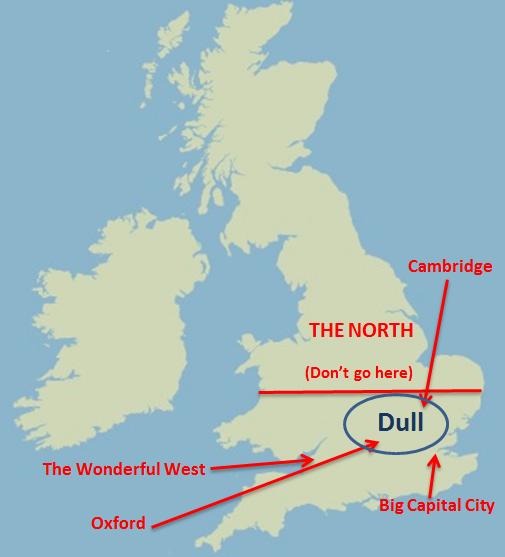 Oxbridge Map Picture