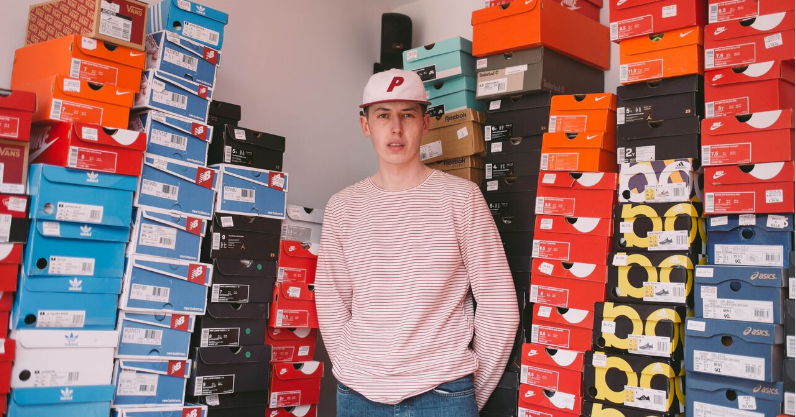 b56947040 Depop: I make £40,000 a year selling trainers. Here's how