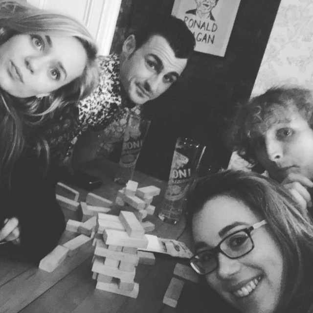 Real friends will still make time for drunk Jenga